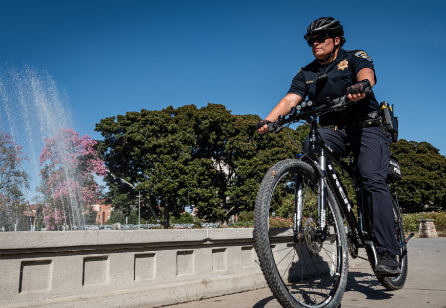 Photo Of A Bicycle Patrol Unit